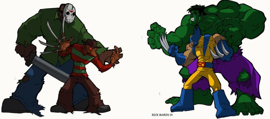 Marvel  Showdown by Misterho
