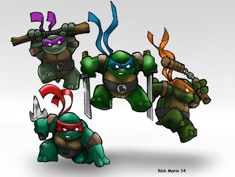 Ninja Babies by Misterho