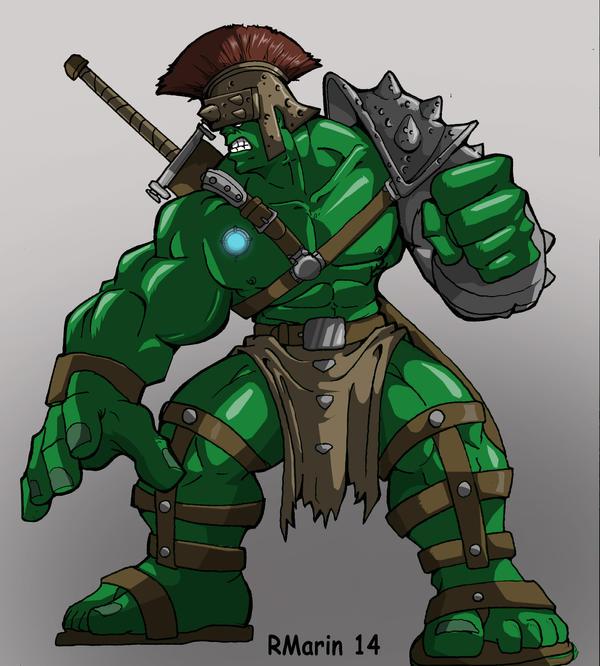 Planet Hulk by Misterho