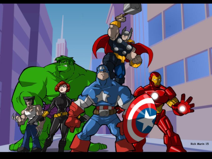 Avengers by Misterho