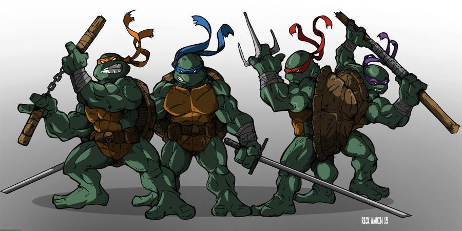 Ninja Turtles by Misterho