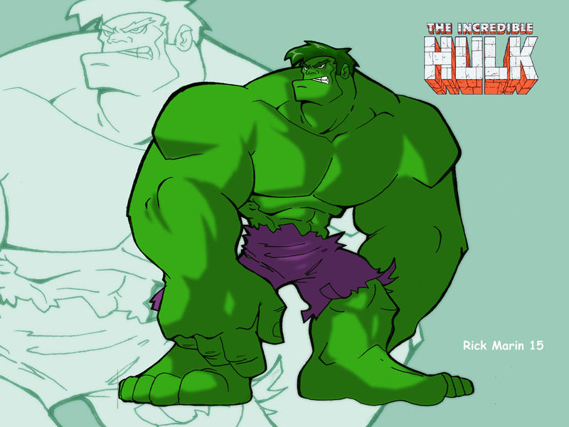 Hulk by Misterho