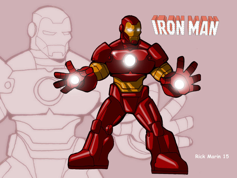 Iron Man by Misterho