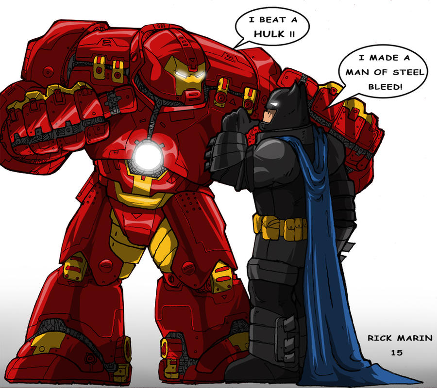 Ironman And Batman By Misterho On DeviantArt