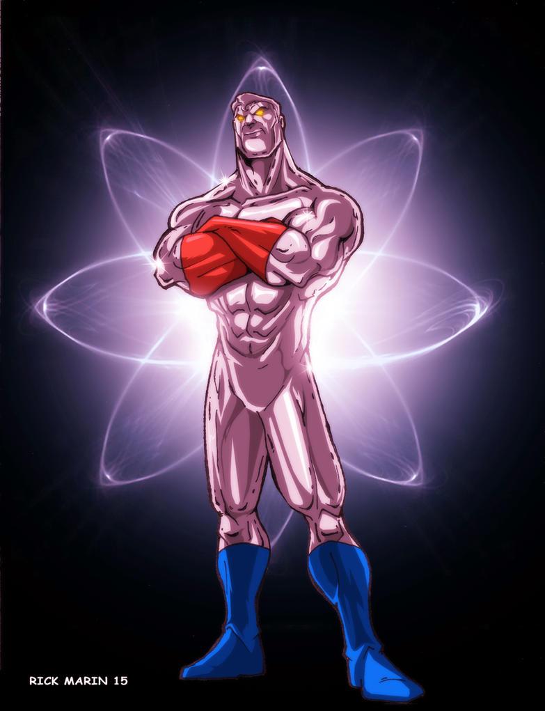 Captain Atom by Misterho