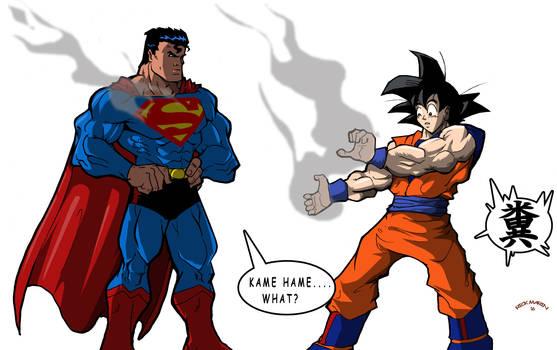 Superman v Super Saiyan