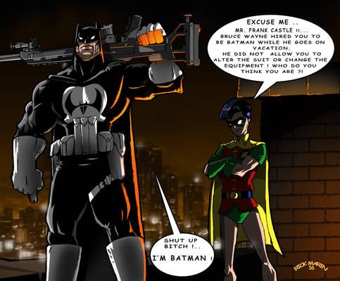 Substitute in Gotham