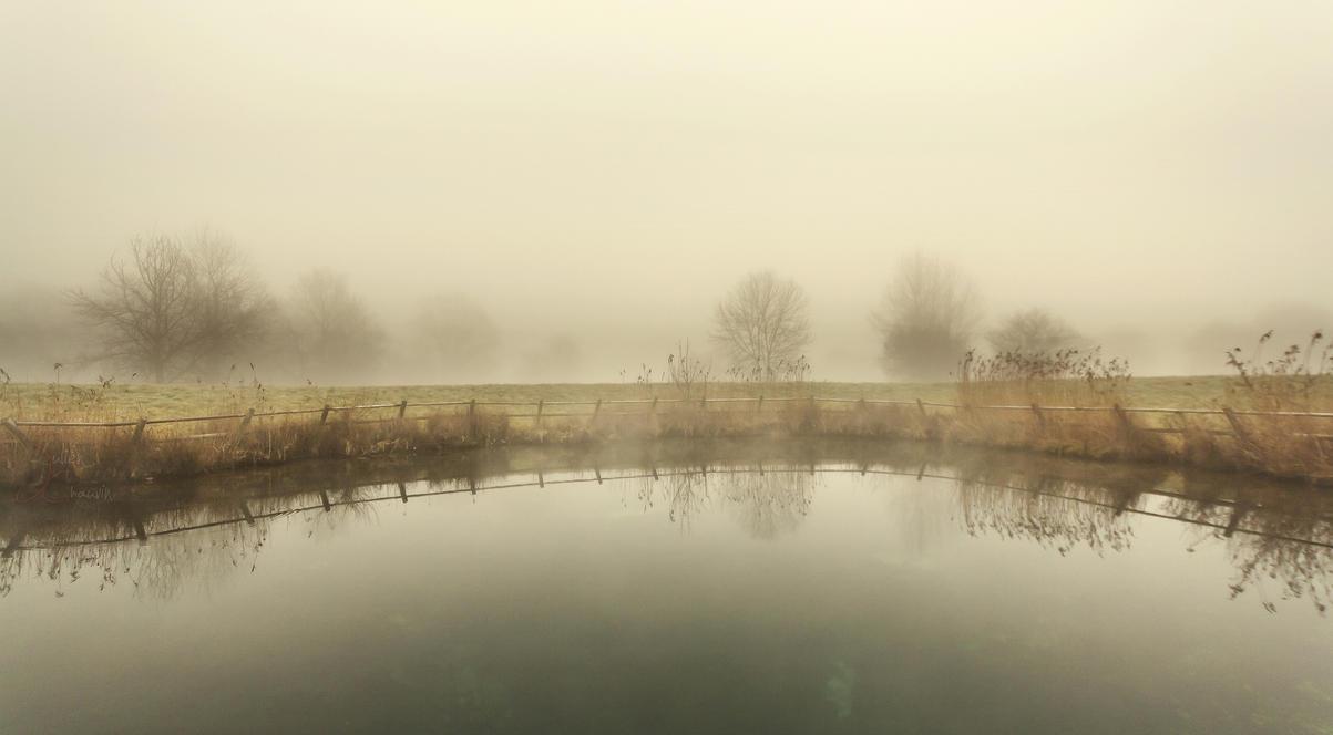 Reflet brumeux by k-simir