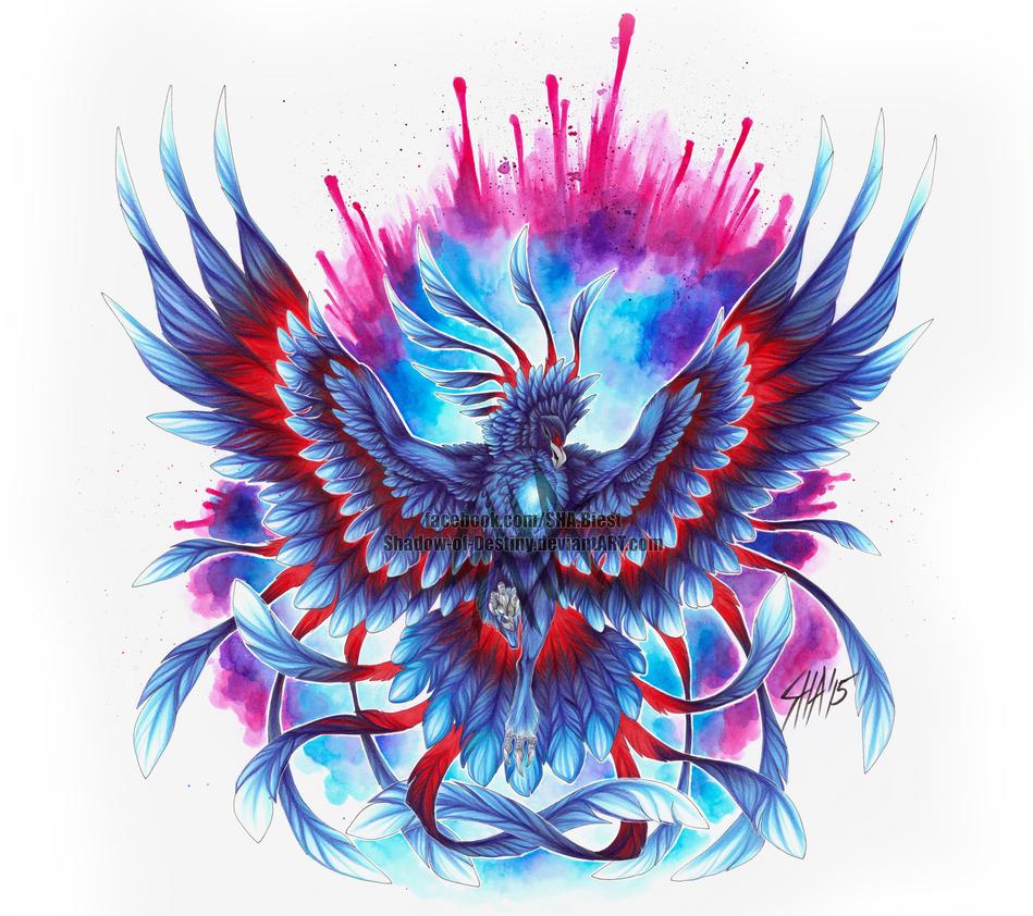 Phoenix - FireXIce by Shadow-of-Destiny