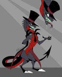 Villainous AU - Dragon Black Hat