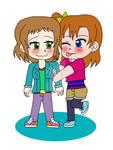 Love is all around - HonoTsuba