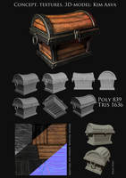 3D Chest Kim Aava by Mad-Owl