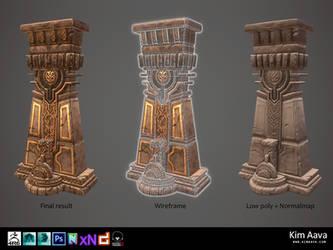 Nordic Environmet - Pillar by Mad-Owl