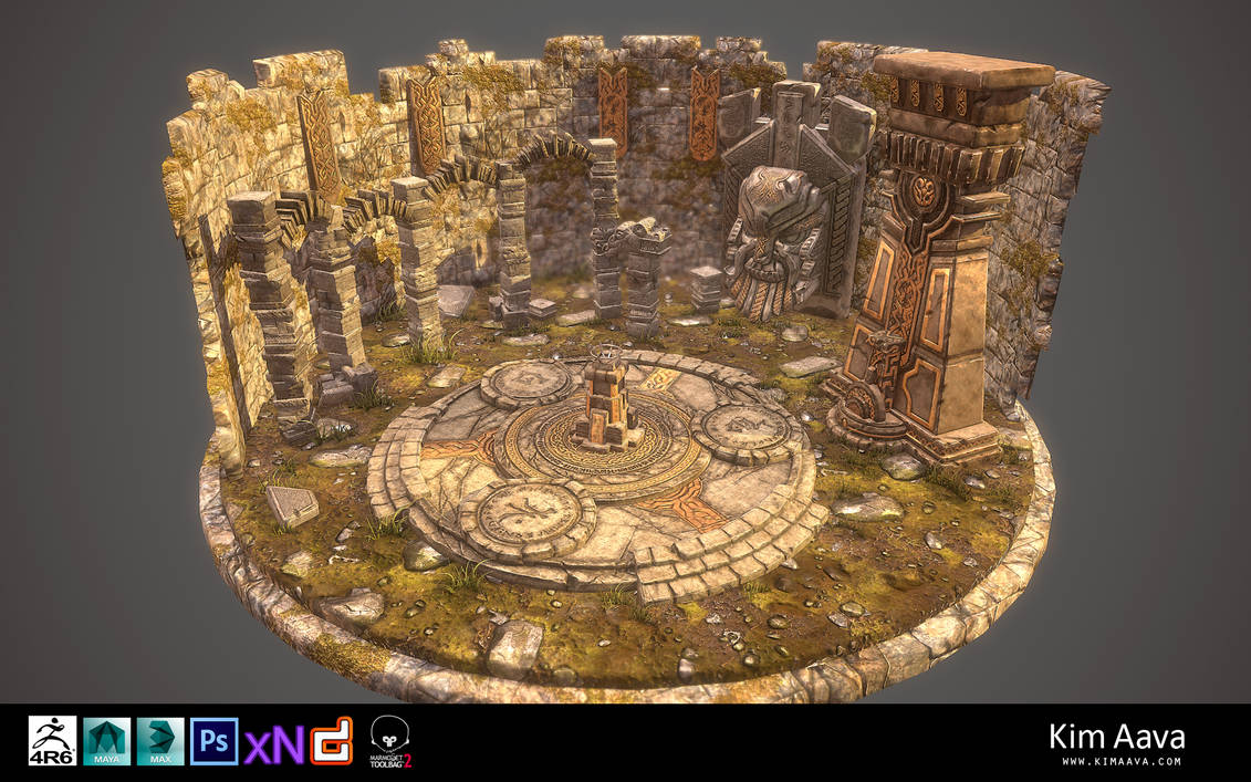 Nordic Environment - final render 2 by Mad-Owl