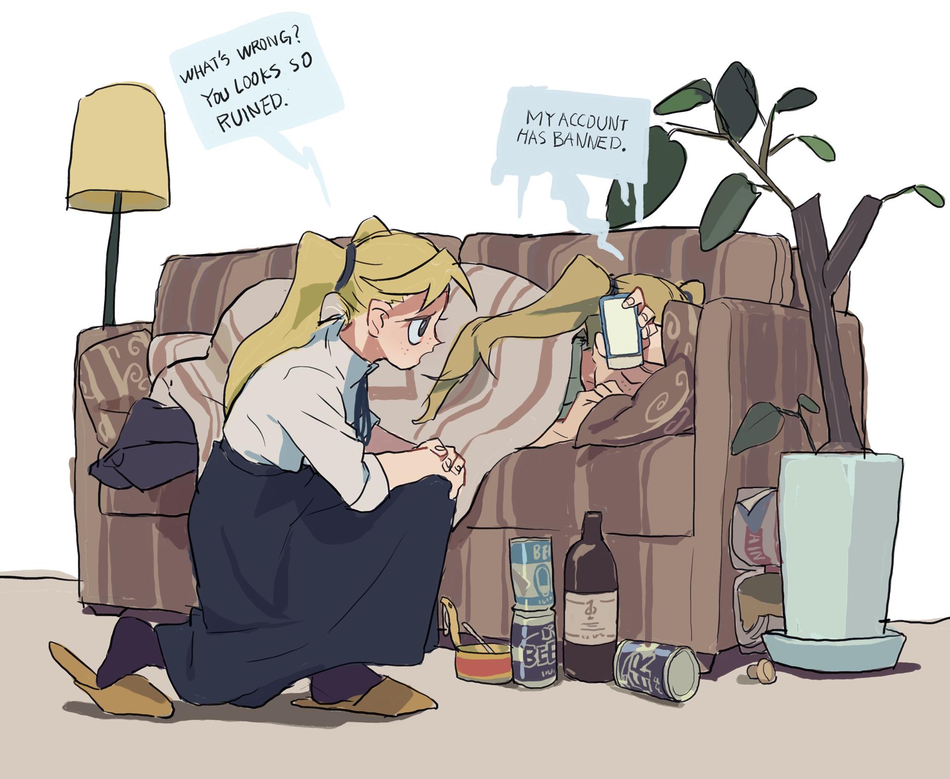 Roshiajin feel depressing by aheahead