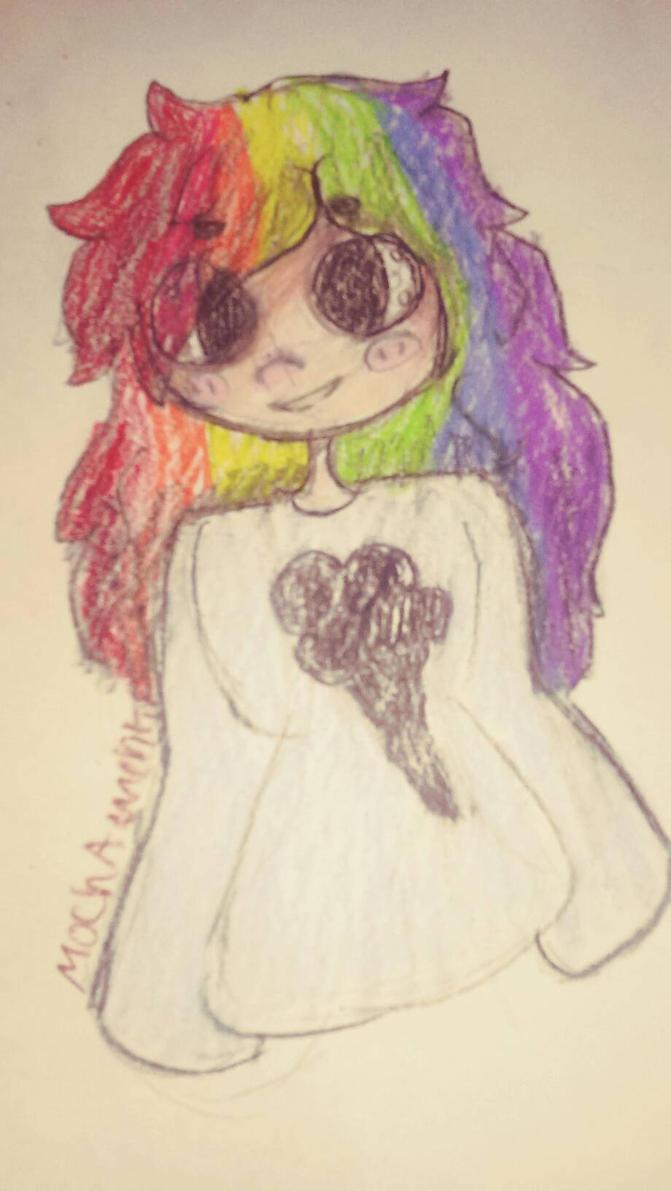 Rainbow Dash Human by MochaMuchkin