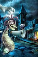 Disturb chicken by DesignerKratos