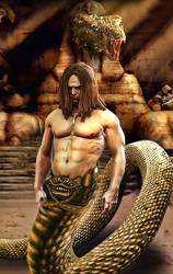 Snake man by DesignerKratos