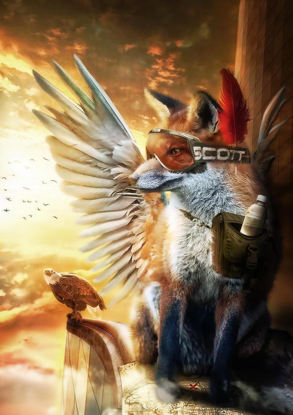 Flying Fox by DesignerKratos