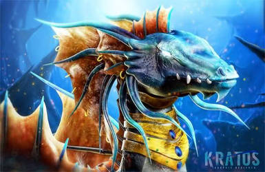 Dragon Sea by DesignerKratos