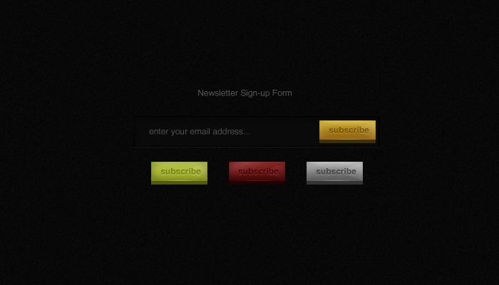 Newsletter Form .psd by emrah-demirag