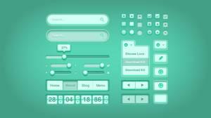 Medical UI Kit .psd