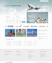 Airline Tickets Site Design by emrah-demirag