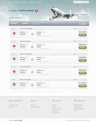 Airline Tickets List