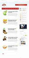 Spring Theme Wordpress Blog Design