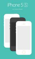 iPhone 5S Flat Design FREE .PSD