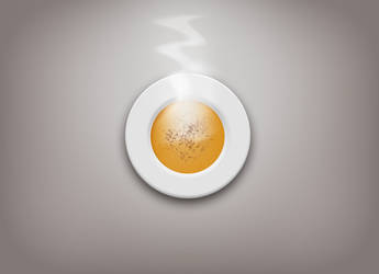 Hot Soup Plate FREE .PSD by emrah-demirag