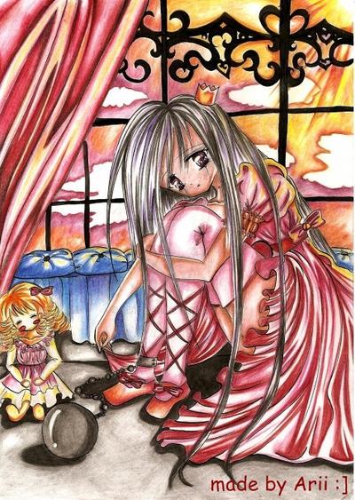 Sad Princess :3 by Ariichen