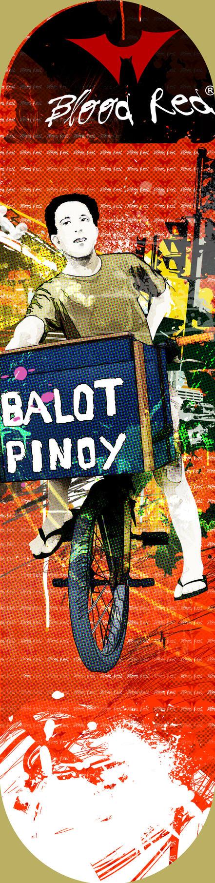 Balot Pinoy Skateboard Deck by paborito