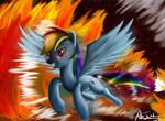 Rainbow Fire?
