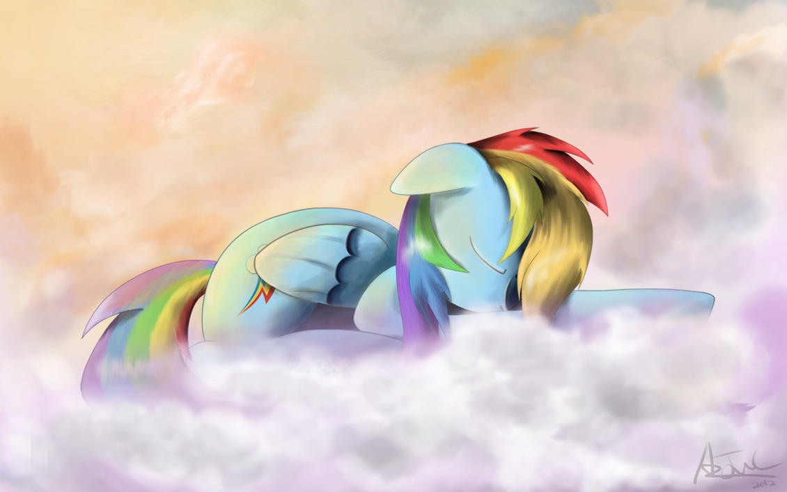 Dash Asleep by aJVL