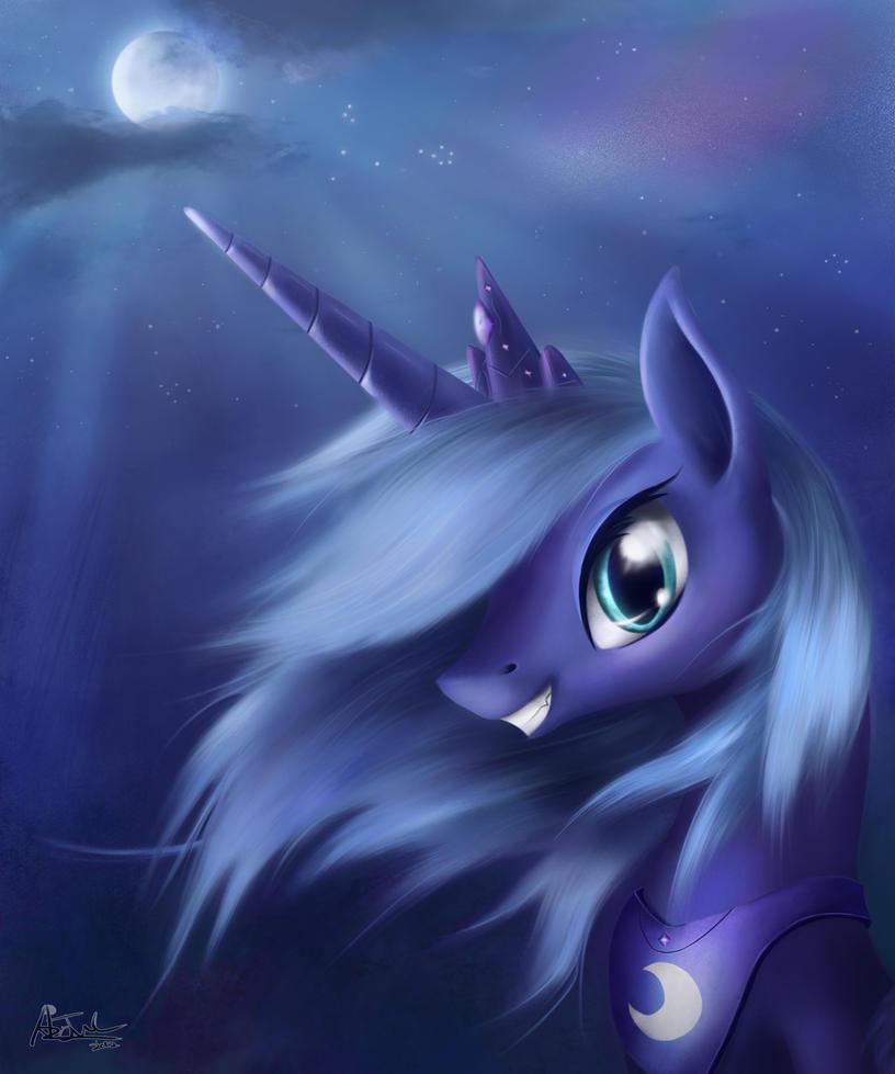 Luna by aJVL
