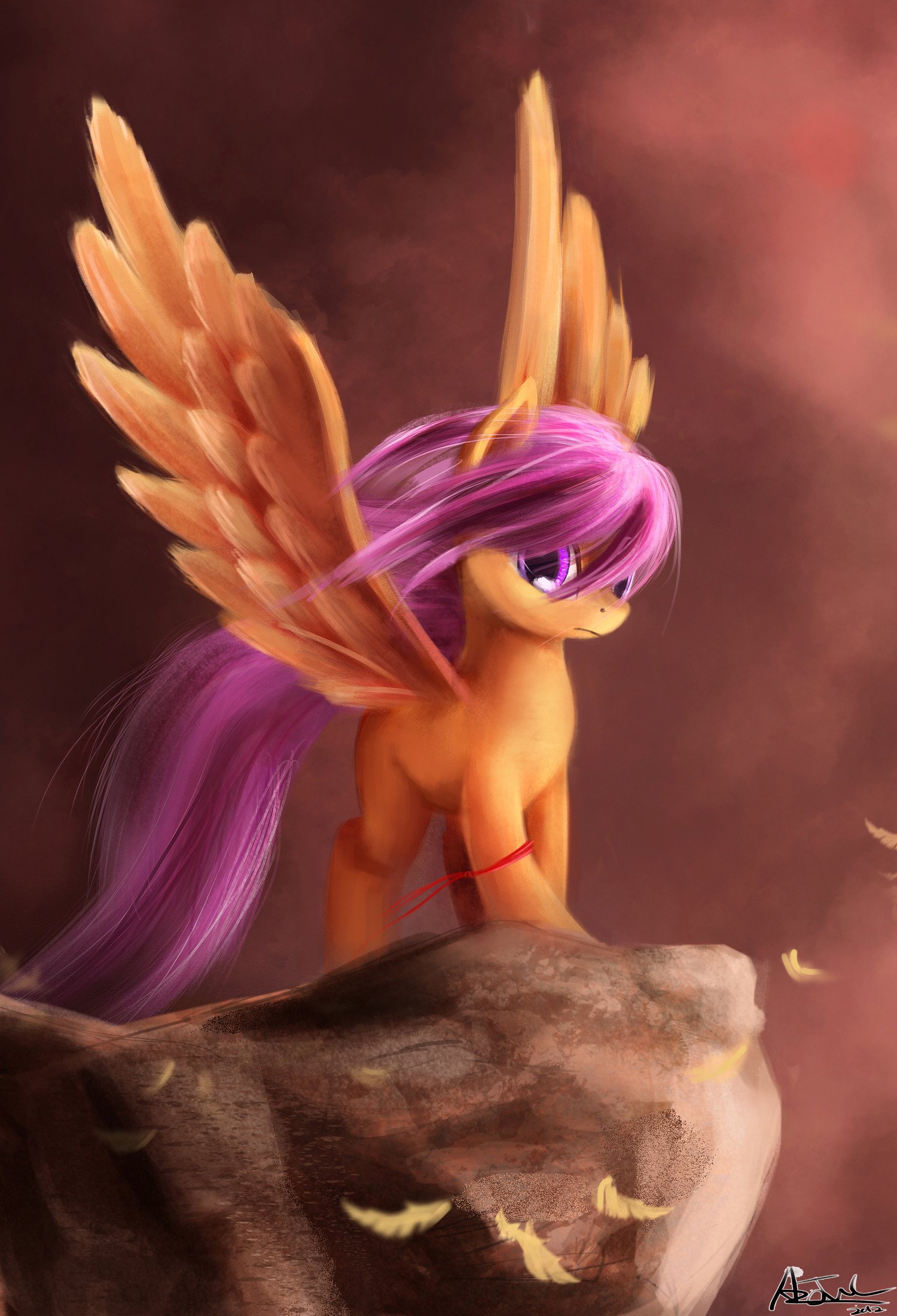 Crusaders - Scootaloo by aJVL