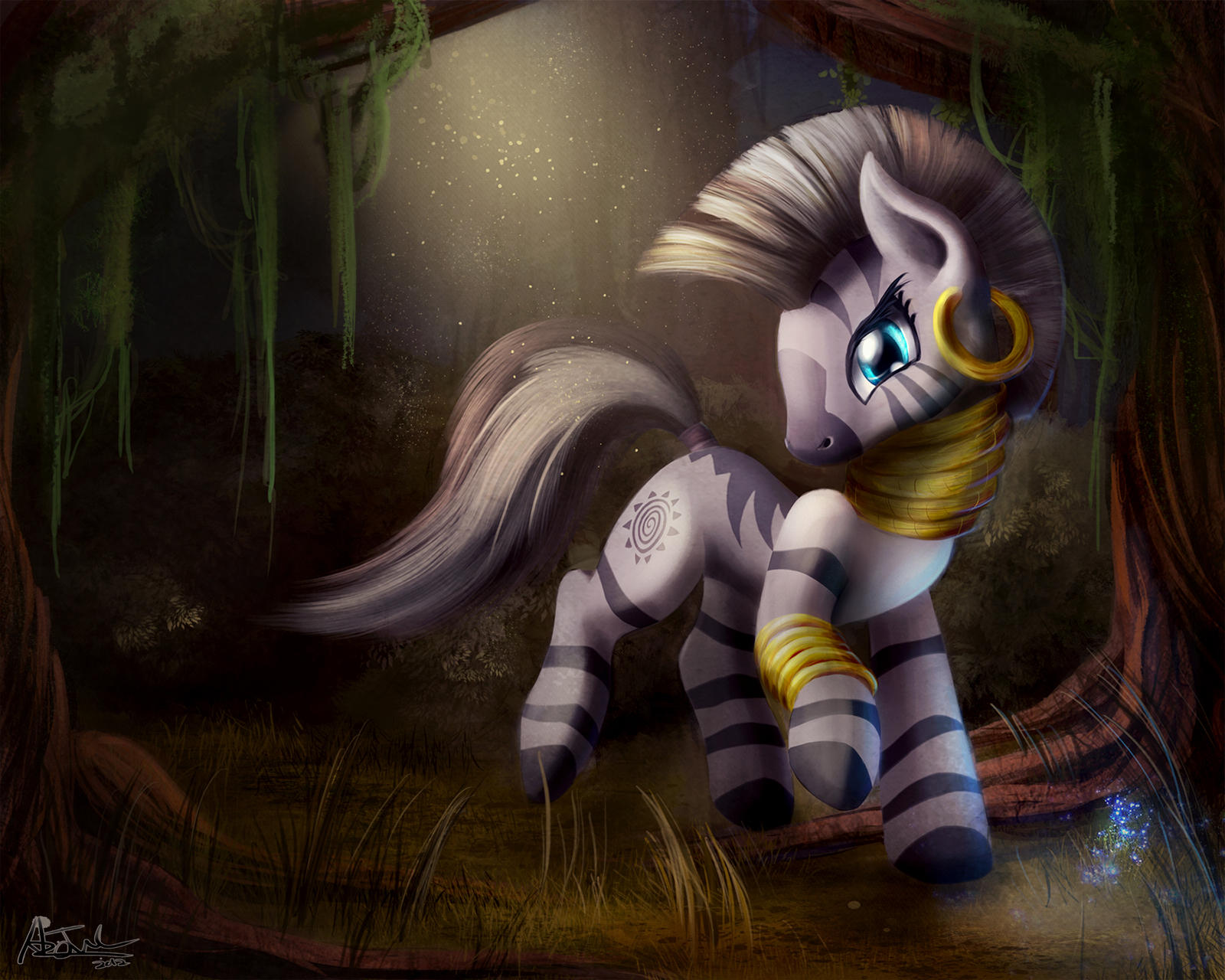 Everfree's Finest Resident - Zecora by aJVL