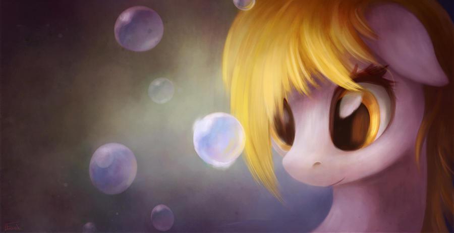Derpy - Ooo Bubbles by aJVL