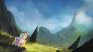 Path to Canterlot by aJVL