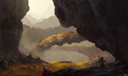 Green Cavern by aJVL