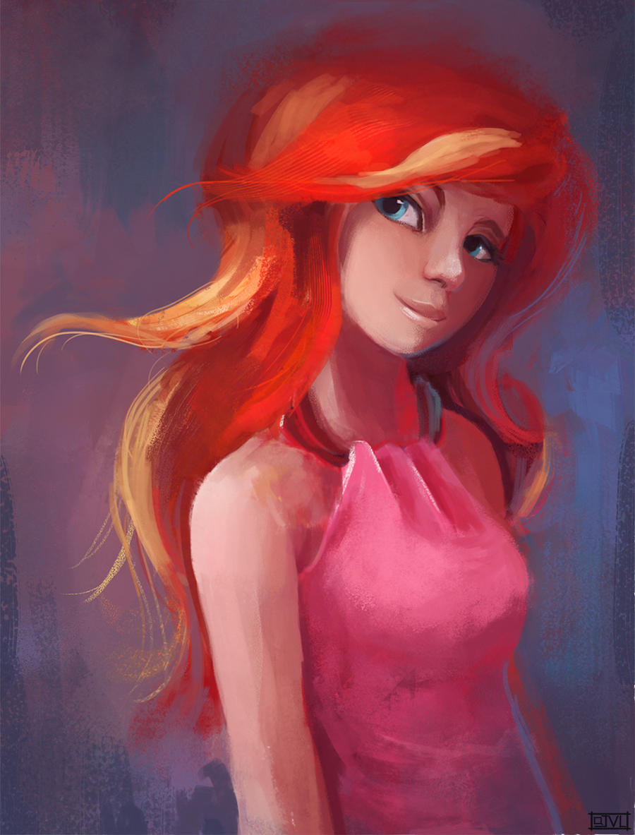 Sunset Shimmer - Sketch