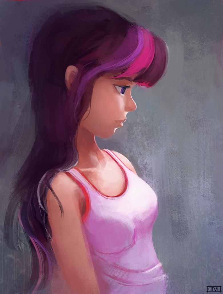 Twilight Sparkle - Sketch by aJVL