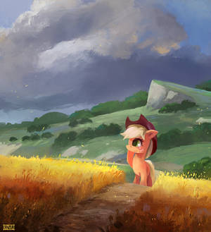 By The Field