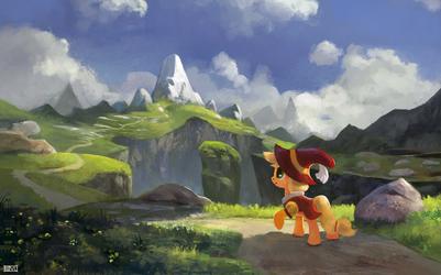 Land of Earth Pony by aJVL