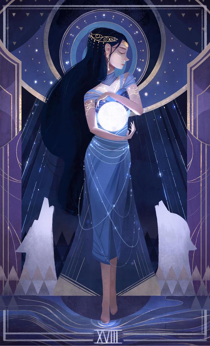 The Moon - XVIII by aJVL