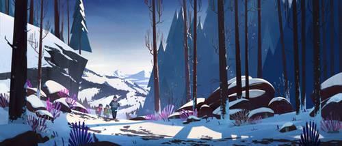 Mountain Trekking by aJVL