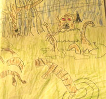 Swamp monster by Chiracy