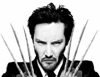Keanu Reeves as Wolverine