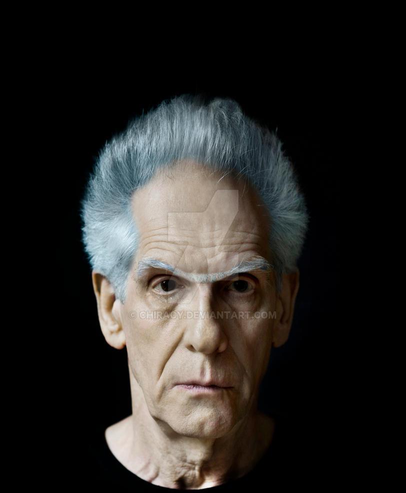 David Cronenberg As Rick Sanchez by Chiracy